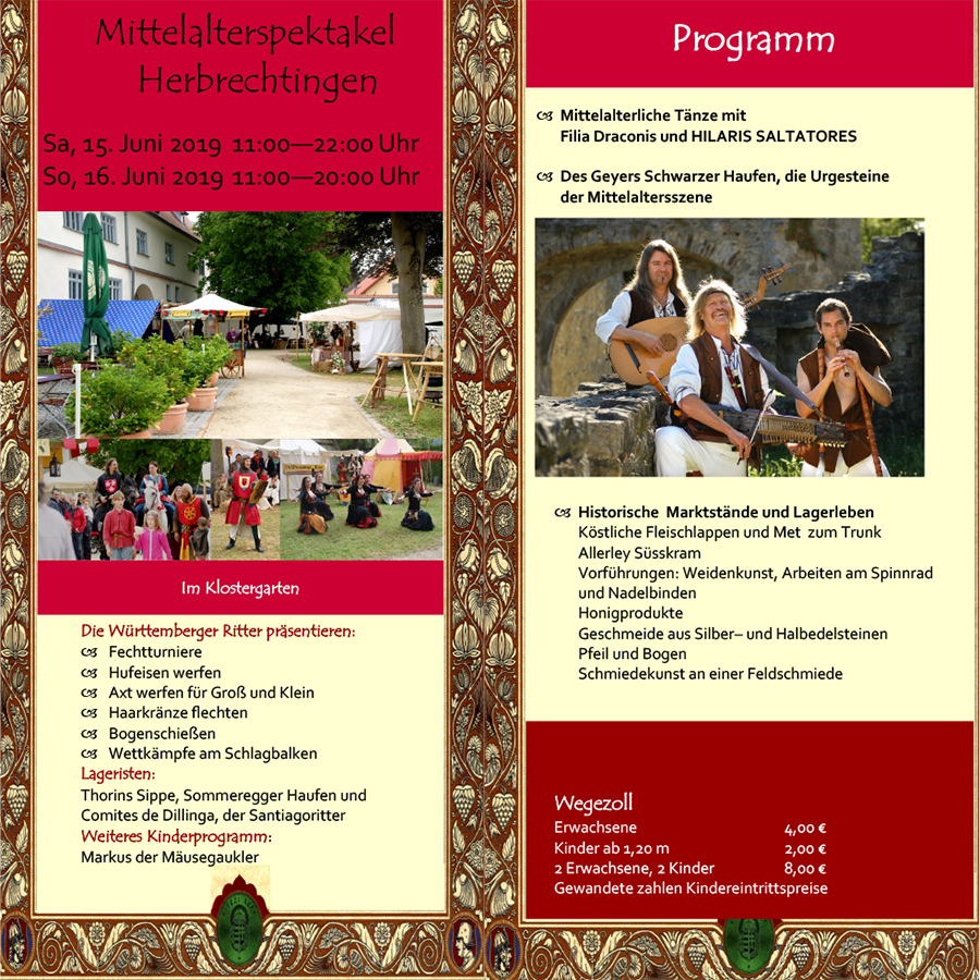 Flyer Herbrechtingen.